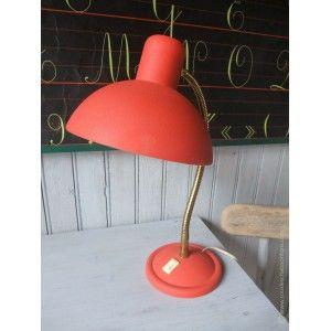 Lampe de bureau flexible années 60