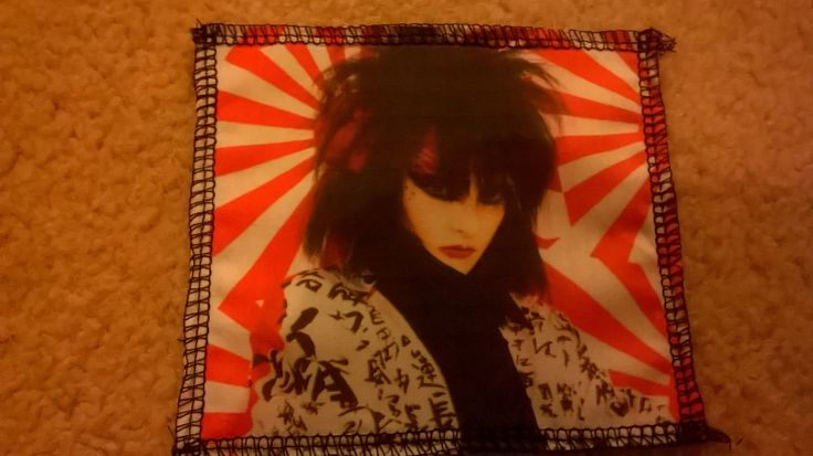 A personal favorite from my Etsy shop https://www.etsy.com/listing/257663230/siouxsie-sioux-siouxsie-and-the-banshees