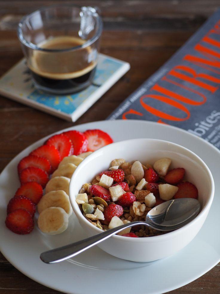 L1M1AS1 - Still life (food) - Breakfast.  f/4.5, 1/250 sec, ISO-500