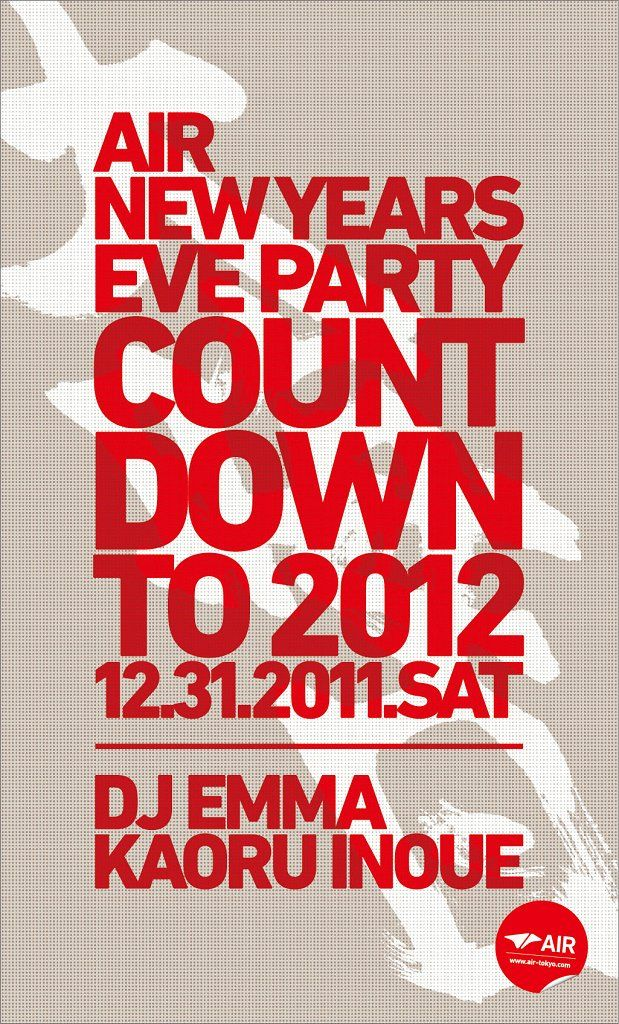RA: Air New Years Eve Party 'countdown To 2012' at Air, Tokyo (2011)
