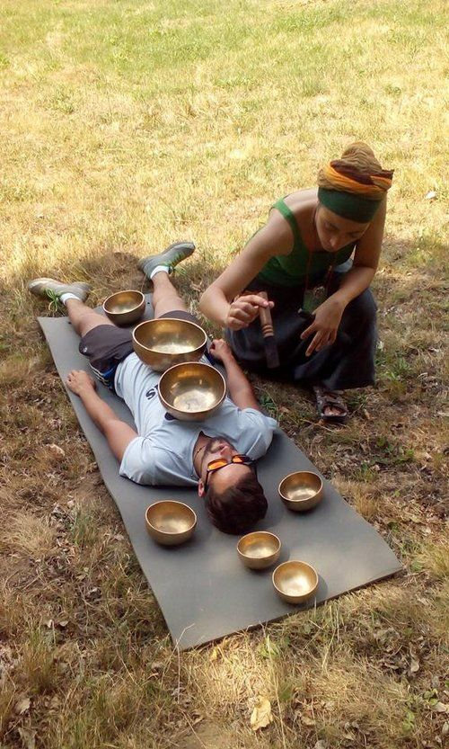Sound Meditation, Yoga, Gong Bath at Akasha Wellness Retreat. Yoga Retreats with Wellness & Detox in Romania, Transylvania