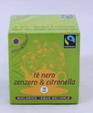 Tè nero zenzero&citronella bio/FT 10 f*