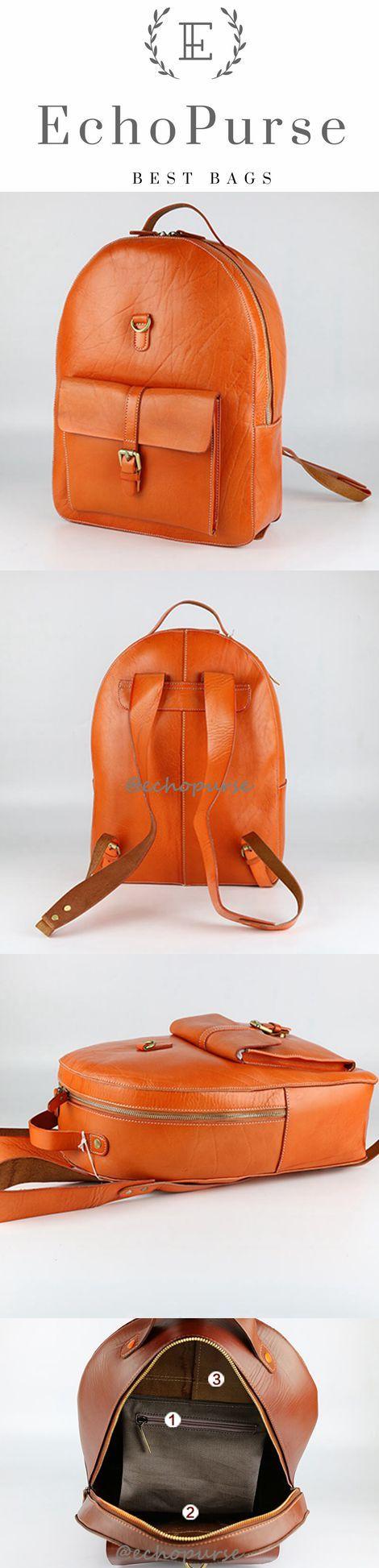 Top Grain Leather Backpack For Man, Best Backpacks,Travel Backpack 6200