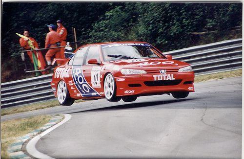 BTCC Patrick Watts 1996 Peugeot 406 BTCC Brands Hatch by tonylanciabeta, via Flickr