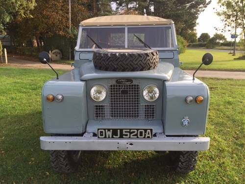 Land Rover® Series 2a Ragtop (OWJ) For Sale (1962)