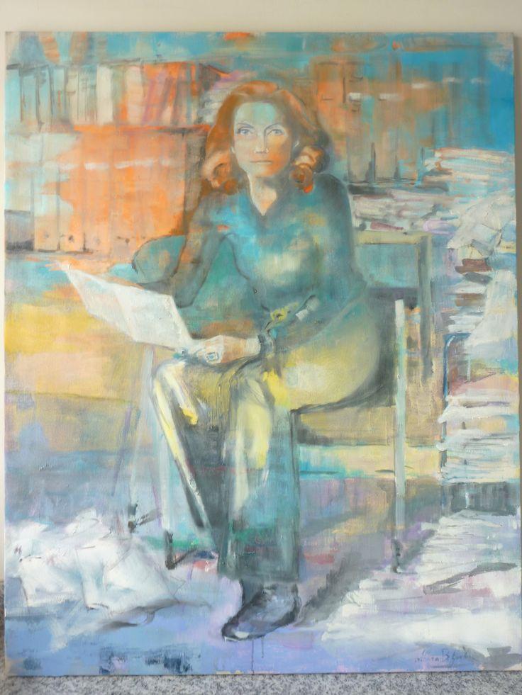 """Palma Bucarelli"" 80x100"