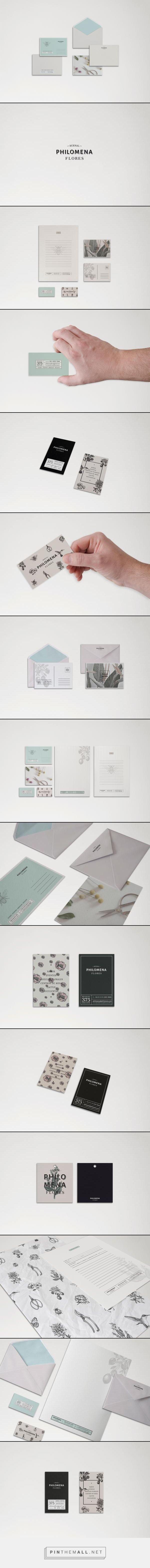 Philomena Flores - Buenos Aires - Argentina by Estudio Piropo © #graficdesign - created via http://pinthemall.net #design #identity #diseñografico #identidad