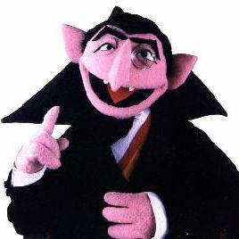 Jerry Nelson (voice of 'The Count') passed away today :(