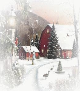 christmas farm on the graphic