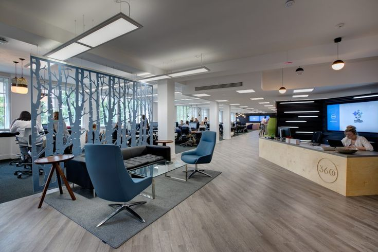 A 360 degree view of 360i's new office space | BuzziSpace