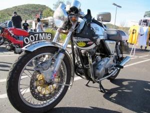 Rocker bike from Mods vs. Rockers 11