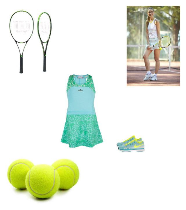 """Tennis"" by vida-paula on Polyvore"