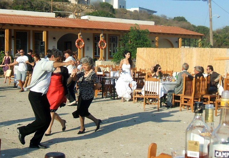 More dancing !!! Lipsi, Greece