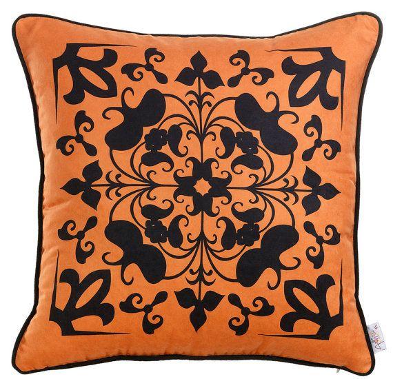 Apolena Elegant Pillow Patterns 17 x 17 by EscraftsHome on Etsy, $24.90