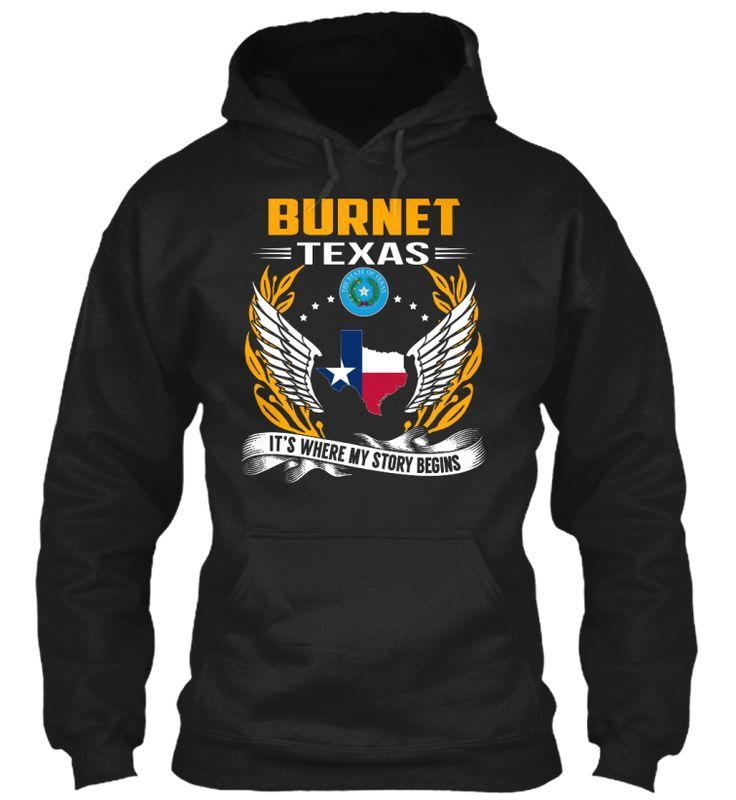 Burnet, Texas - My Story Begins