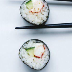 Sushi med hummer opskrift