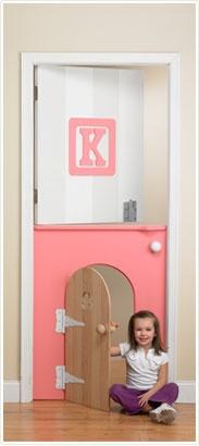 A dutch door for the kids' room