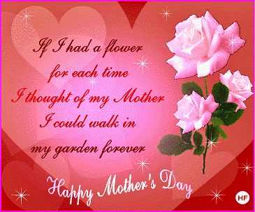 animated happy mothers day   the origin of mothers day the second sunday in may is traditionaly ...