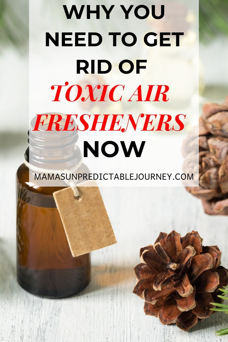 DIY NonToxic Air Freshener Spray With Essential Oils