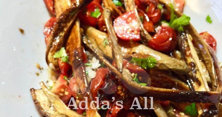 Adda's All : Contorno perfetto del estate - melanzane perline con pomodori ciliegini