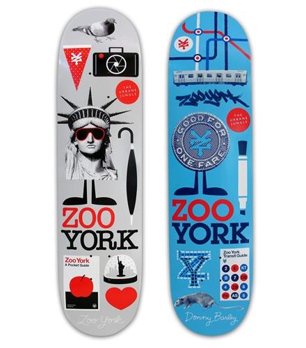 Zoo York: Skateboards — Athletics