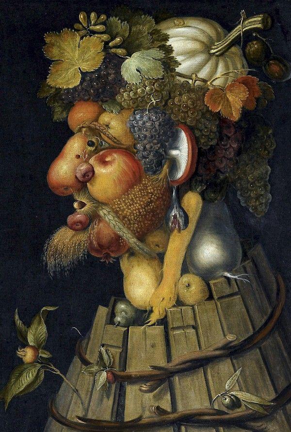 L'Automne, par Giuseppe Arcimboldo