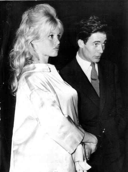 Rare Picture Of Pregnant Brigitte Bardot Amp Husband Jacques