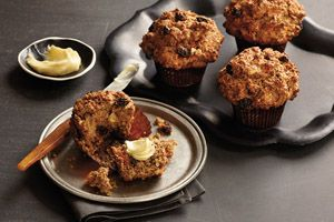 Wholesome Spiced Carrot Bran Muffins