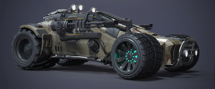 Jeep02 for the Zombies Apocalypse