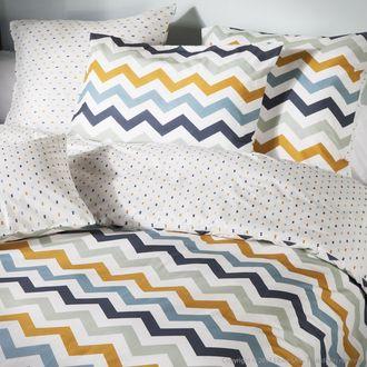 100% coton 60 fils/cm2 Traitement : Easycare pour des fibres plus souples, un toucher doux et un tissu qui se froisse beaucoup moins rendant le repassage ...