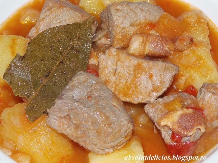 Absolut Delicios - Retete culinare: GULAS DE PORC