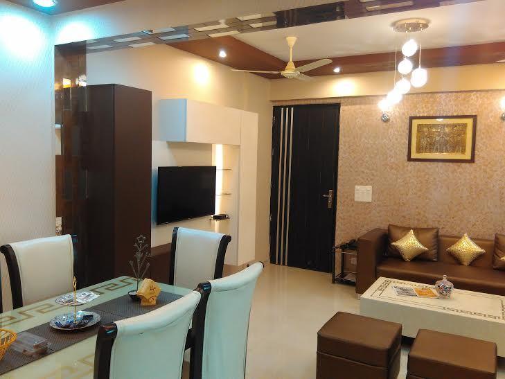 Dining Cum Drawing Room Interior Design Consultancy Services In Delhi NCR