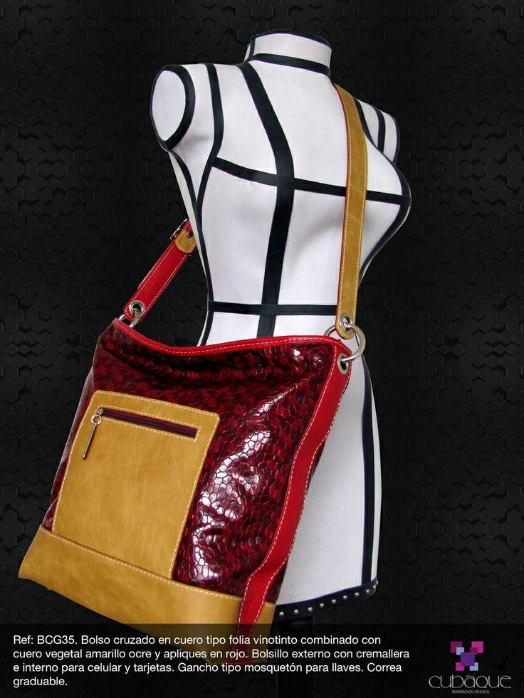 Bolso en cuero  #handmade #bags #accesorios #hechoamano #leather #cuero #bolsos