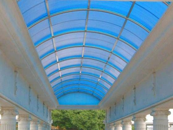 Different Types Of Polycarbonate Sheets For Roofing Canopy Design