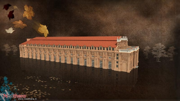 """""""La Citroniera"""" - Frame from the video """"La Reggia di Venaria"""" - Noothera Portfolio (CGI, 3D, Video, Animation)"""
