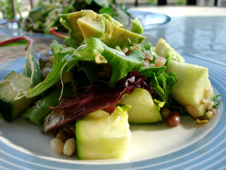 Sprouted Summer Salad Recipe — Dishmaps