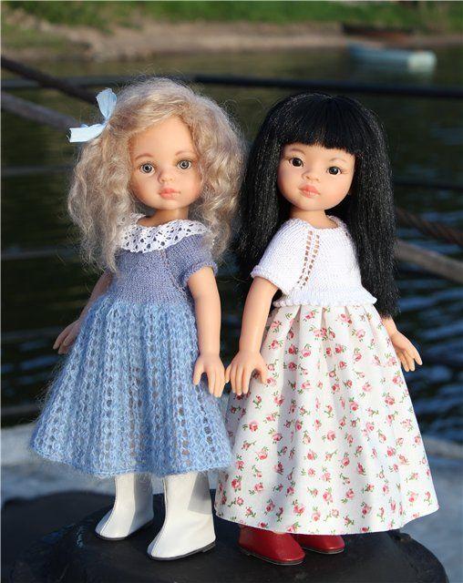 О Снегурочке, Лиу и неожиданном подарке / Paola Reina, Antonio Juan и другие испанские куклы / Бэйбики. Куклы фото. Одежда для кукол
