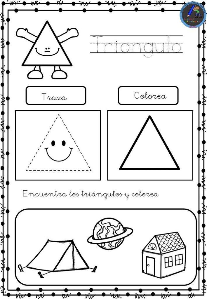 Coleccion De Fichas Para Conocer Las Figuras Geometricas Figuras