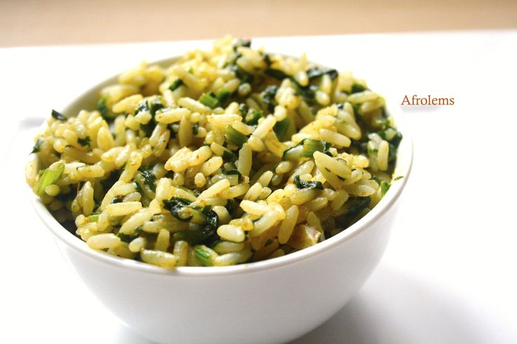 afrolems vegetable rice