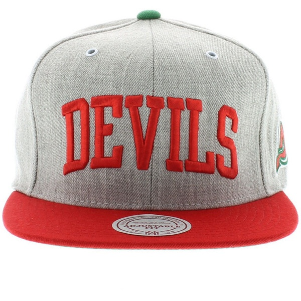 New Jersey Devils The Arch Road Grey 2 Tone SNAPBACK 26 Liked On