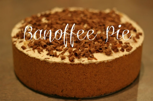 The most delicious recipe for Banoffee Pie!!