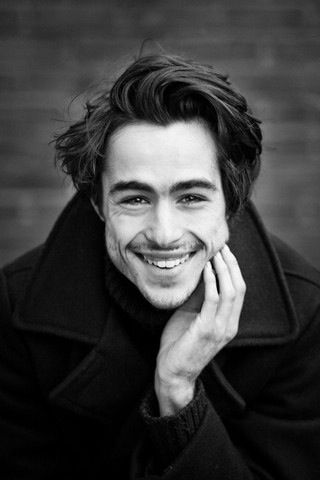 Ben Schnetzer, his smile! He did such a good job with is character max in the book thief