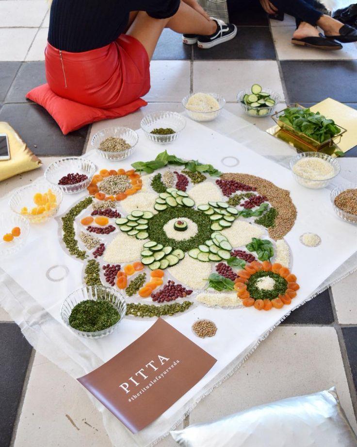 """208 Me gusta, 21 comentarios - Elsa Yranzo (@elsayranzo) en Instagram: """"The ritual Food Mandala para @ritualscosmeticsspain consistió en una experiencia sensorial dónde…"""""""