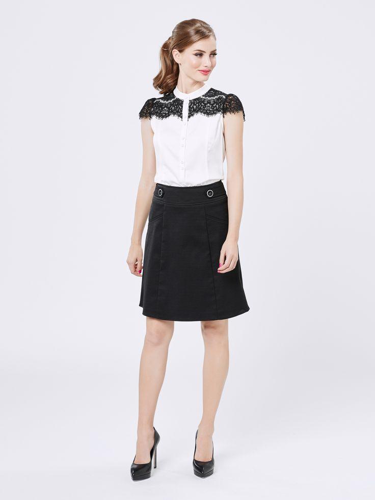 Jeanie Skirt   Black   Skirts