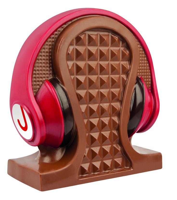 Choco beats koptelefoon red edition  Description: Beats zoals Jamin ze bedoeld. Heerlijke ambachtelijke Belgische chocolade in de vorm van een stoere koptelefoon in een gave verpakking. Just beat it!  Price: 15.00  Meer informatie  #Jamin