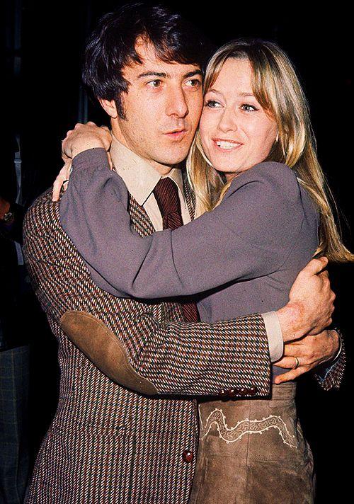 """Dustin Hoffman and Susan George, 1971."""