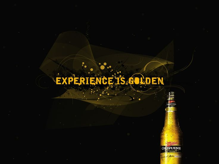 MGD Experience is Golden