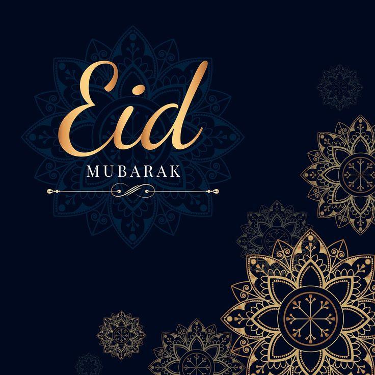 download premium vector of eid mubarak card with mandala