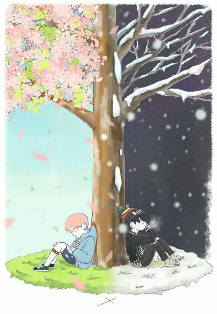 YoonMin fanart Cr. Owner