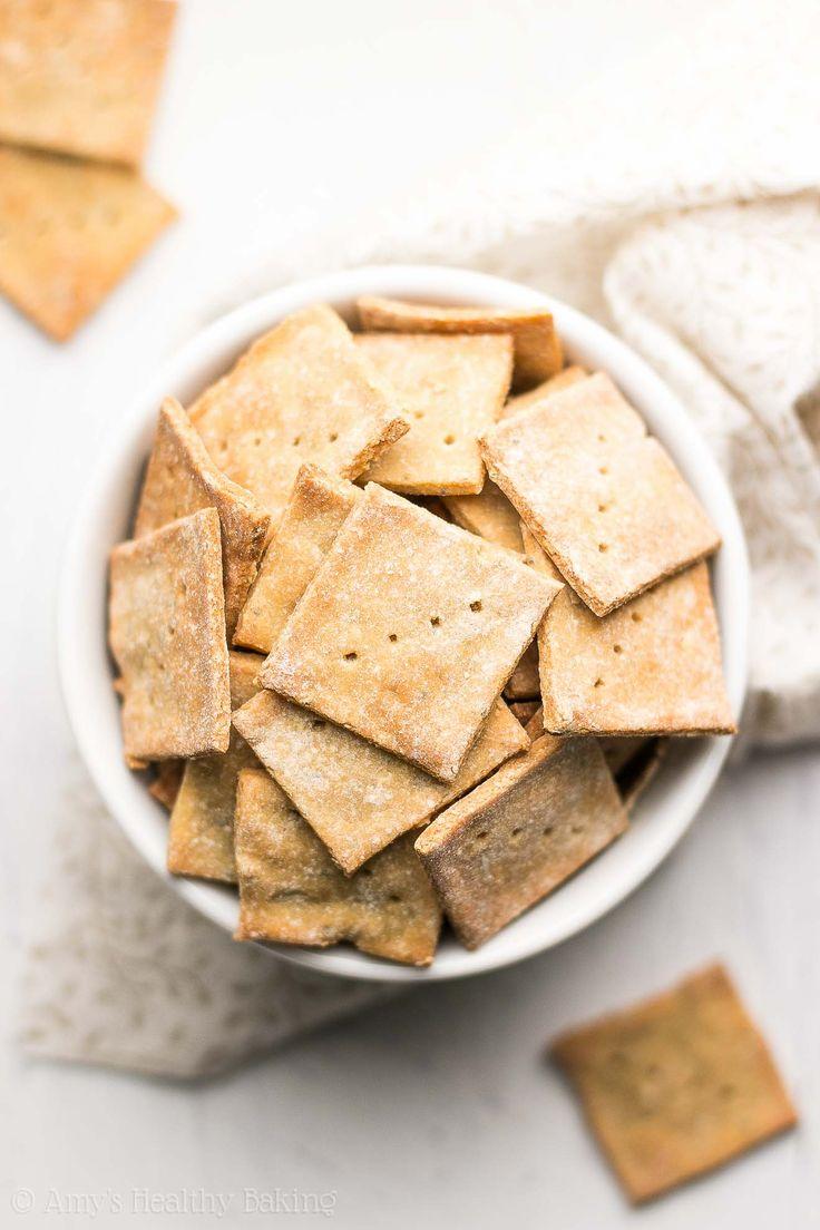 Healthy Everything Bagel Quinoa Crackers recipe